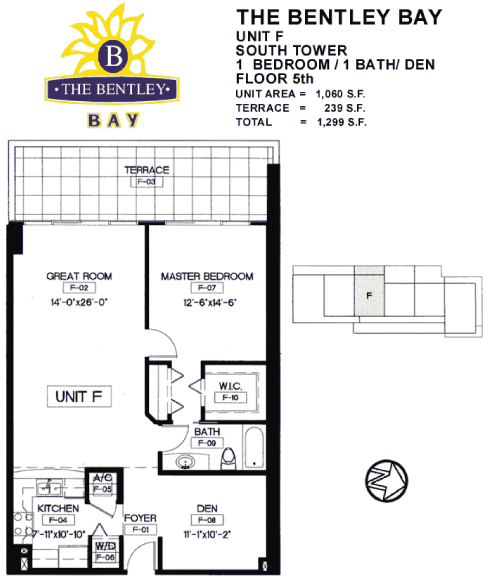 Bentley Bay - Floorplan 7