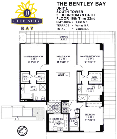 Bentley Bay - Floorplan 9