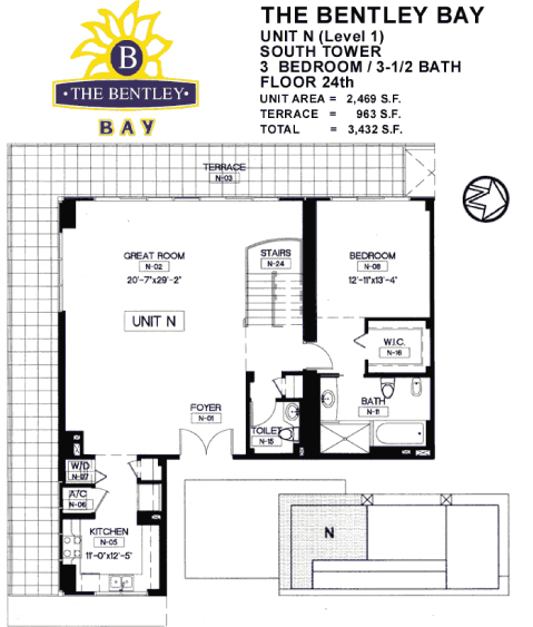 Bentley Bay - Floorplan 10