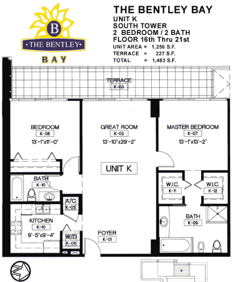 Bentley Bay - Floorplan 11