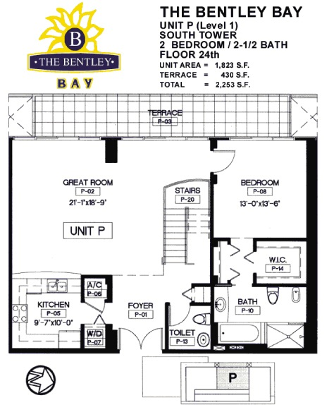 Bentley Bay - Floorplan 12