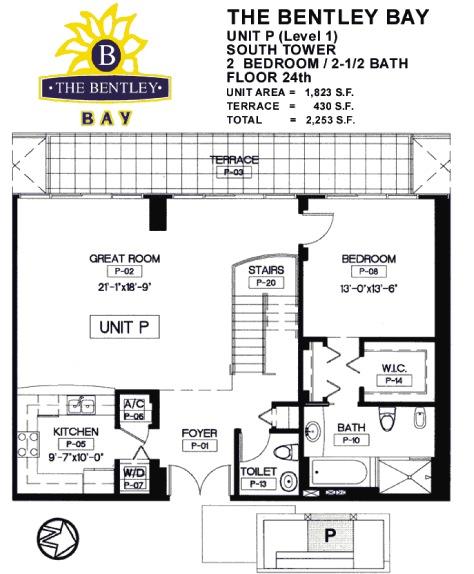 Bentley Bay - Floorplan 12