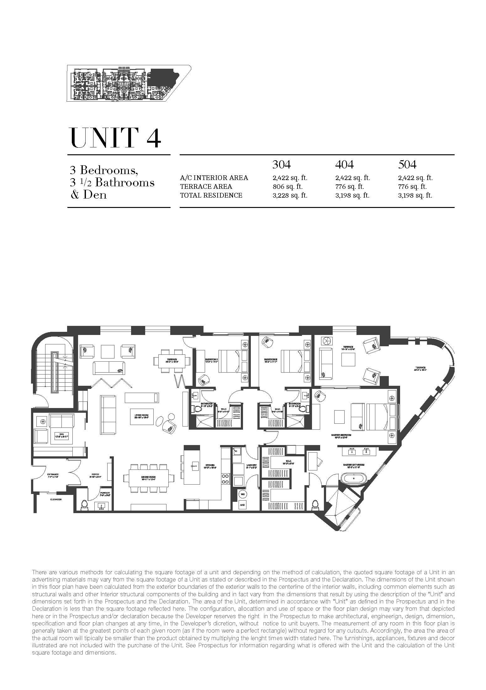 Biltmore Parc - Floorplan 4