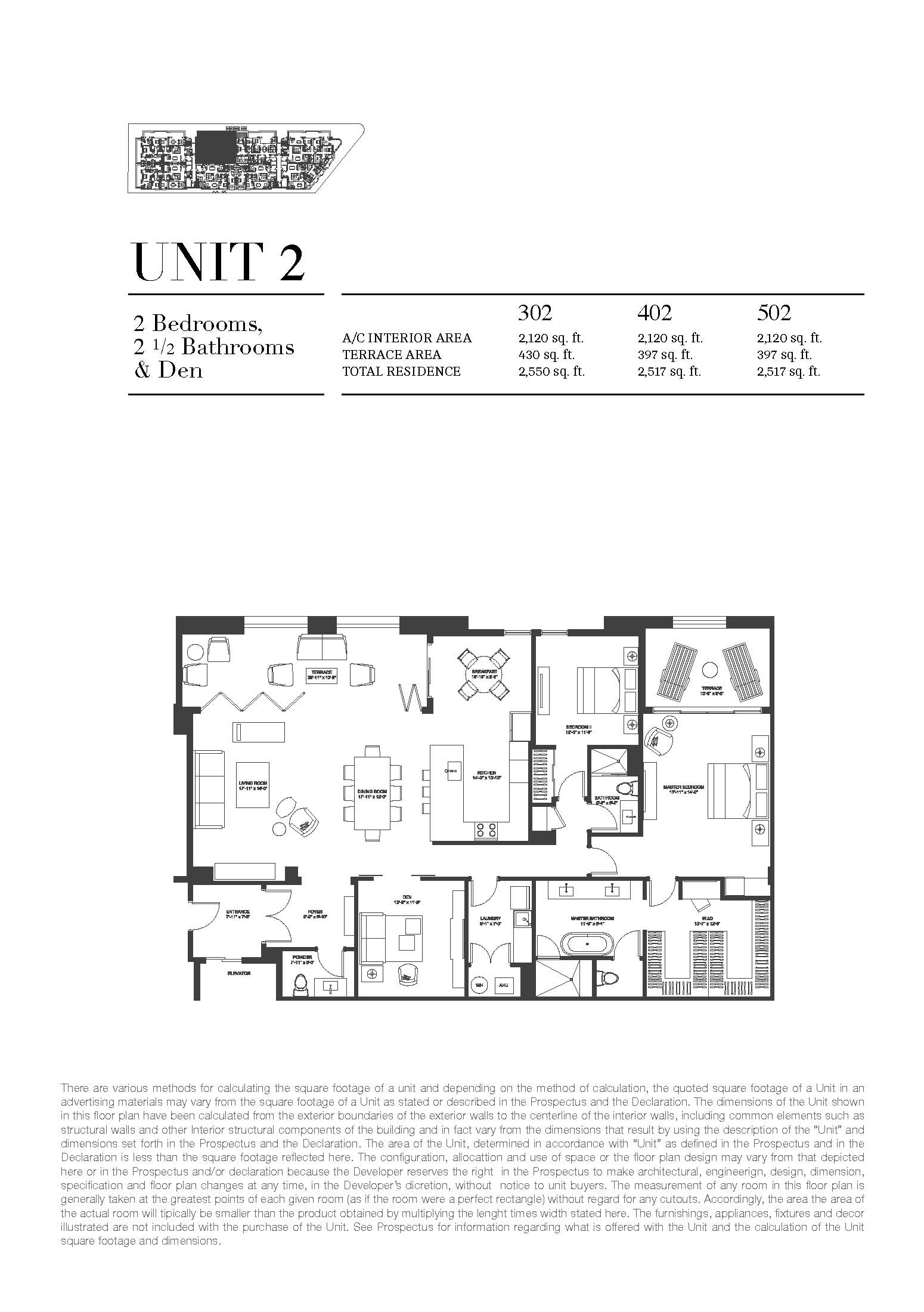 Biltmore Parc - Floorplan 2