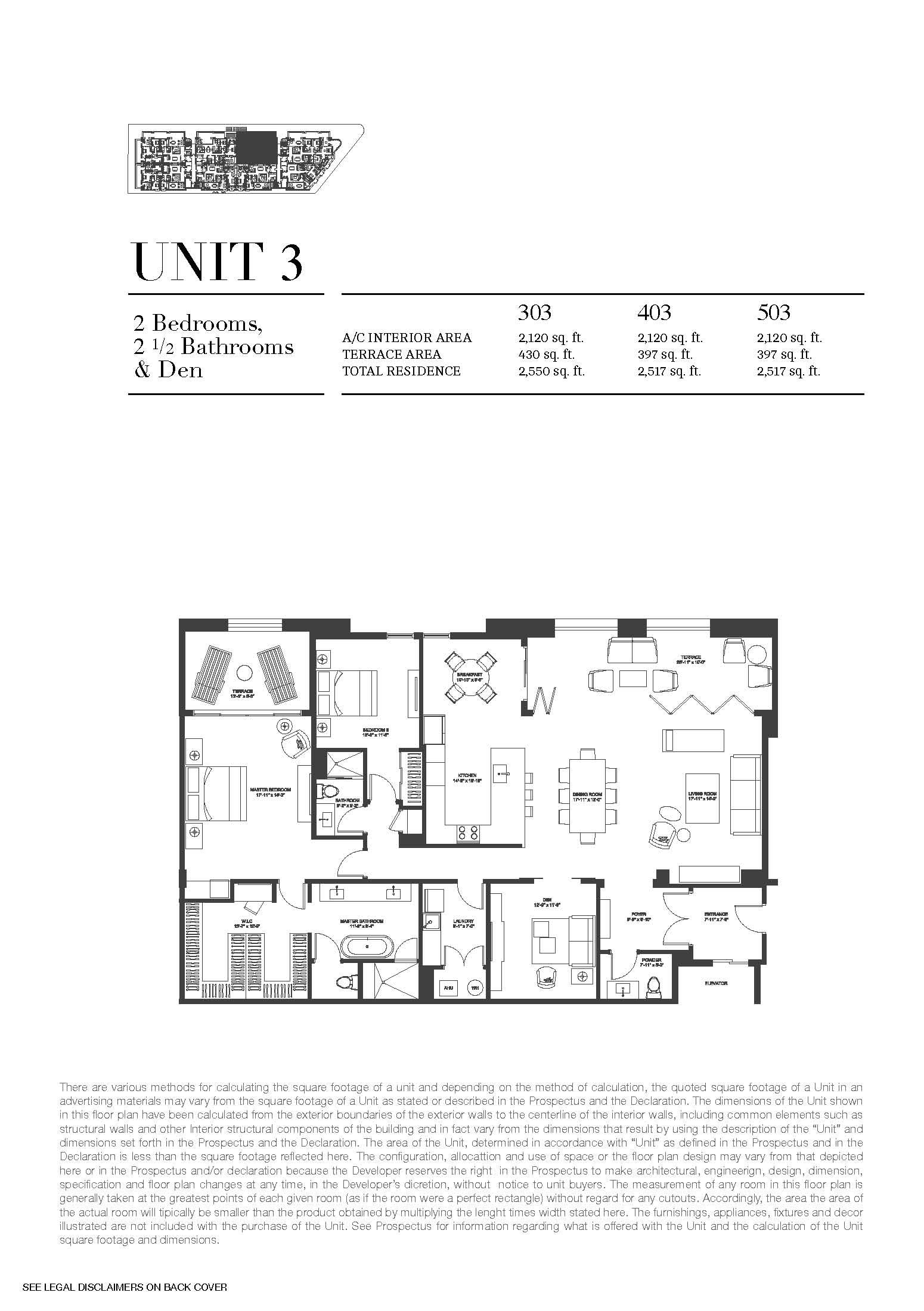 Biltmore Parc - Floorplan 3