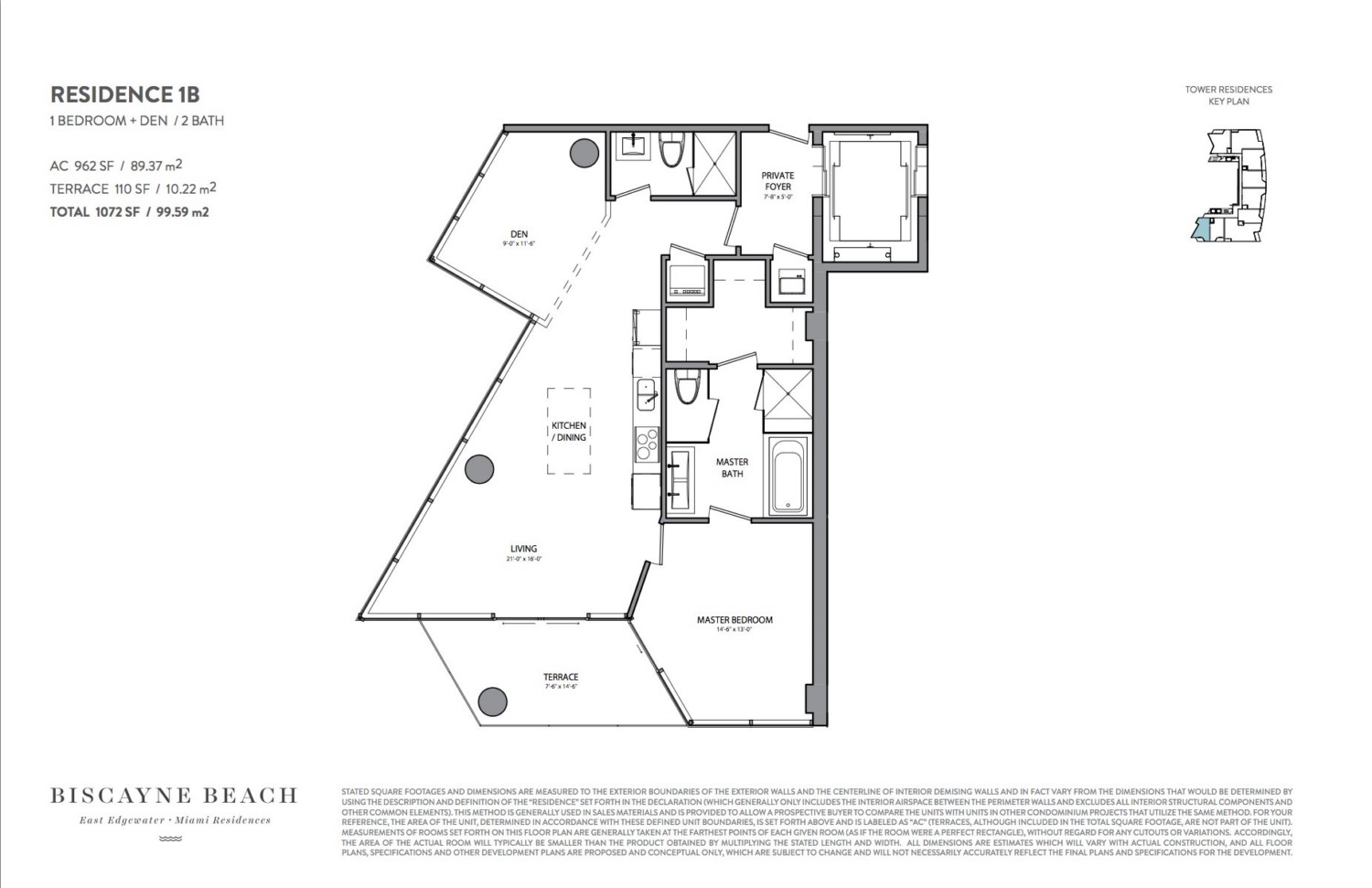 Biscayne Beach - Floorplan 2