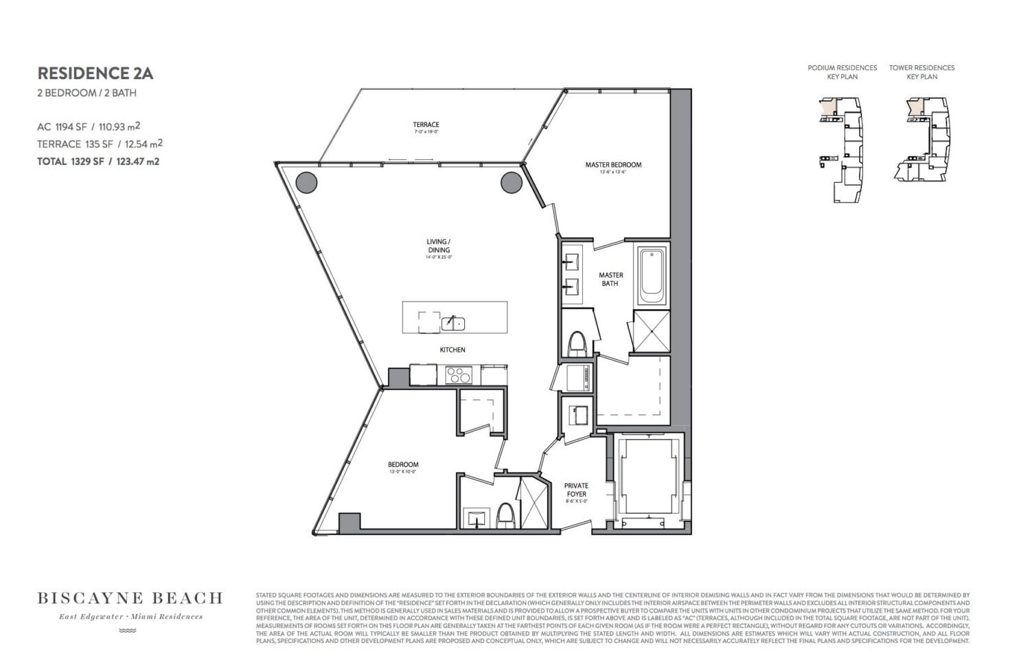 Biscayne Beach - Floorplan 3