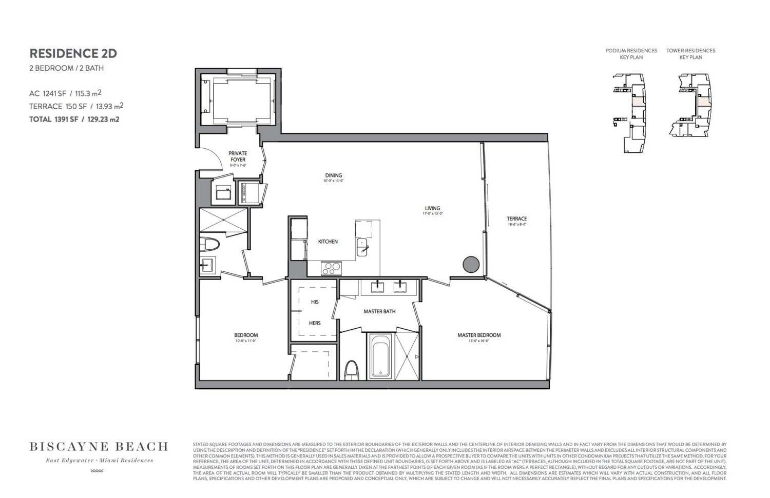 Biscayne Beach - Floorplan 4