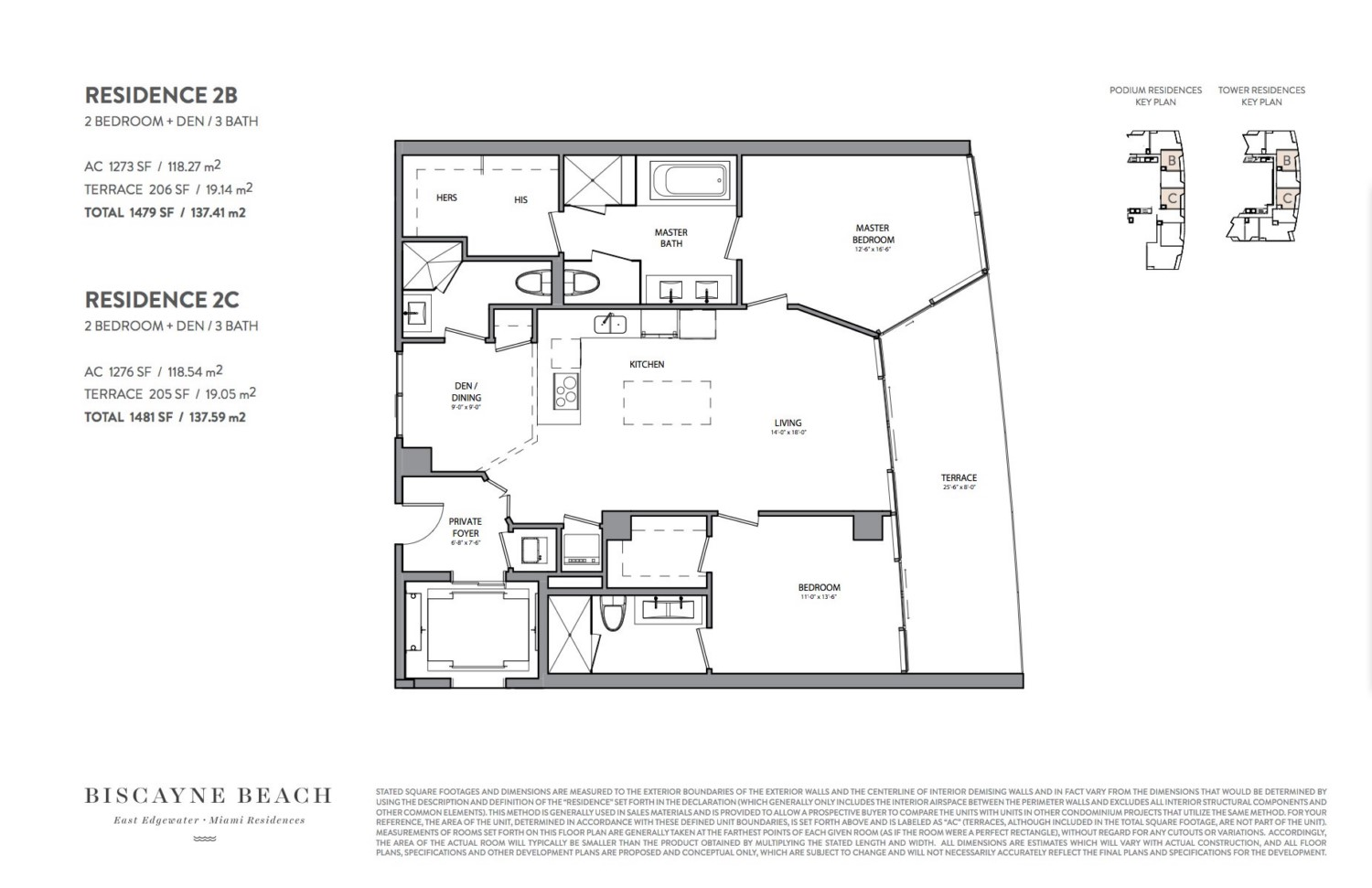 Biscayne Beach - Floorplan 5
