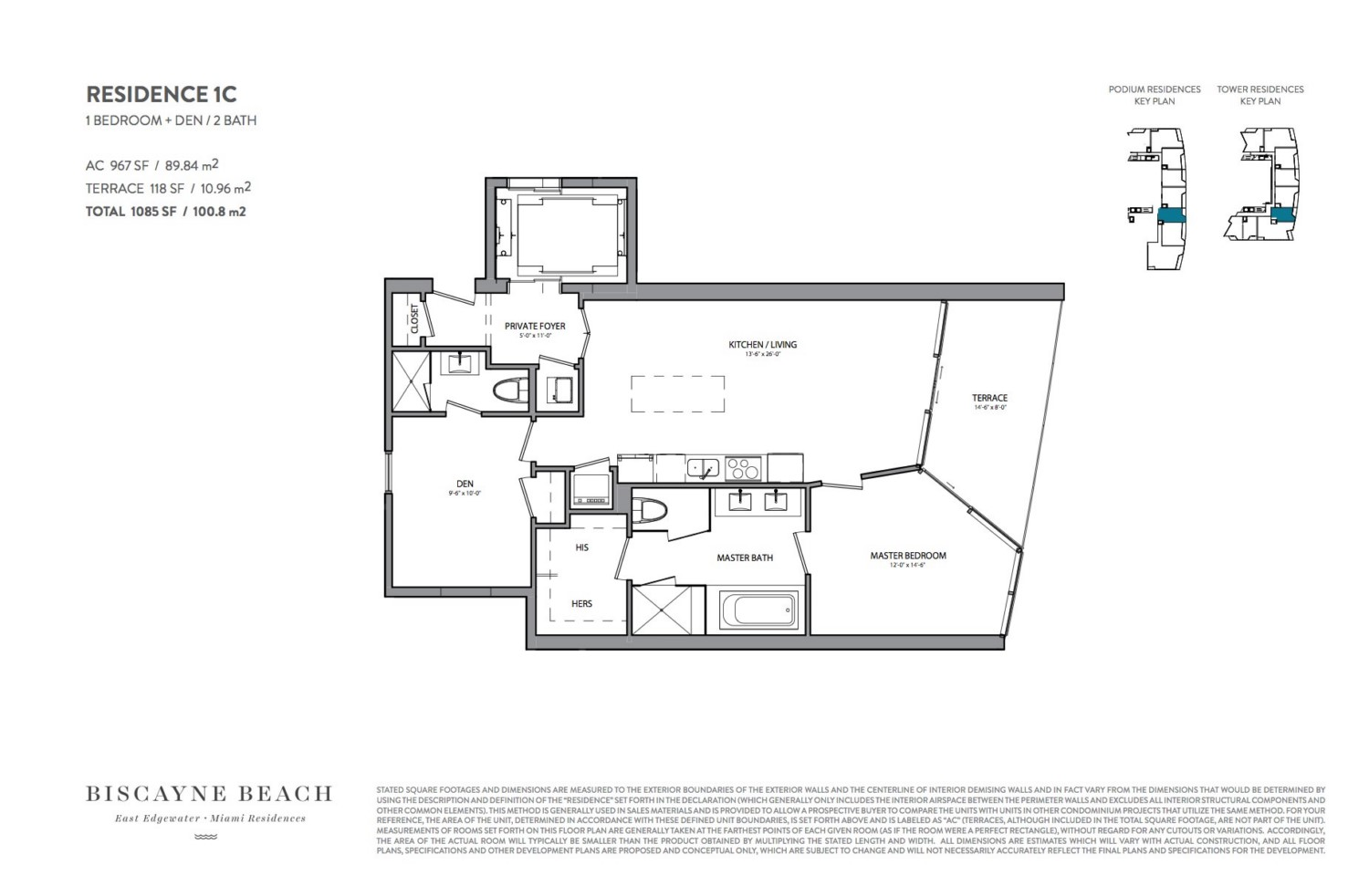 Biscayne Beach - Floorplan 6
