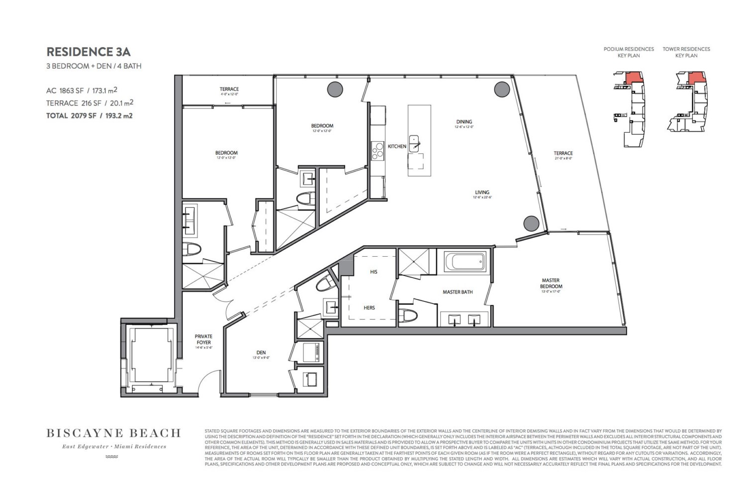 Biscayne Beach - Floorplan 7