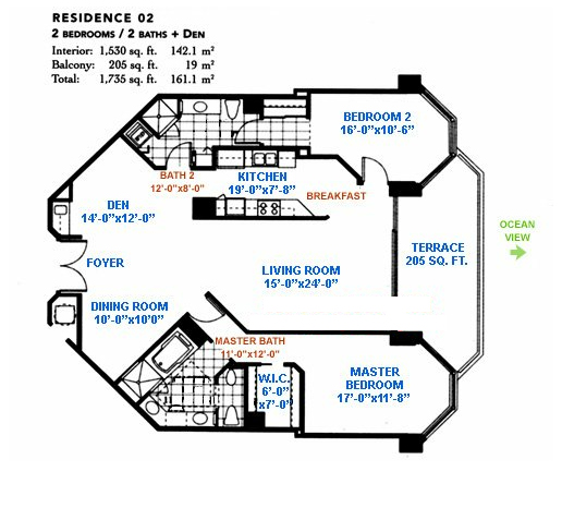 Blue Diamond - Floorplan 1