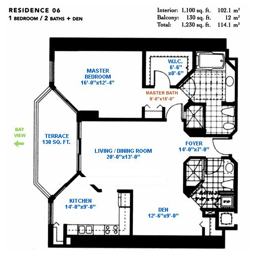 Blue Diamond - Floorplan 2