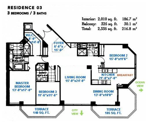 Blue Diamond - Floorplan 4