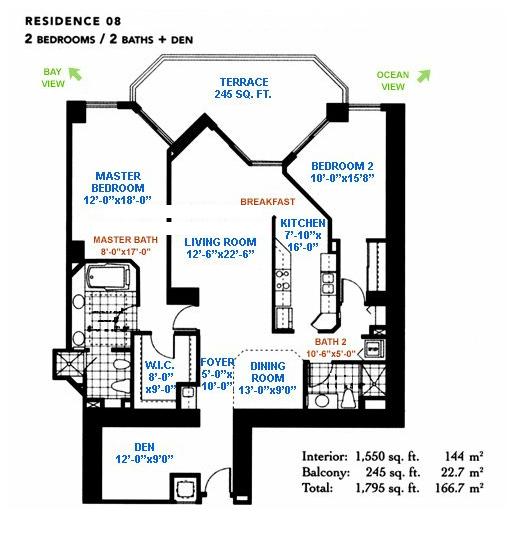 Blue Diamond - Floorplan 8
