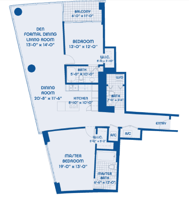 Blue - Floorplan 2