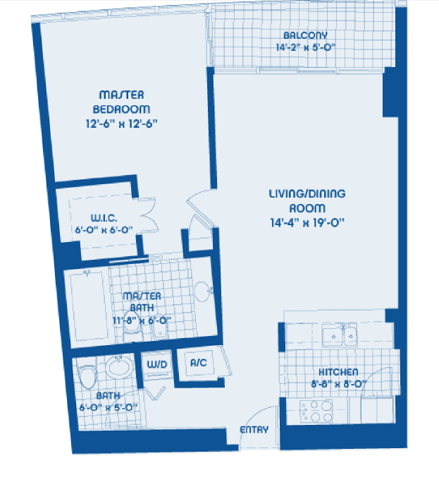 Blue - Floorplan 4