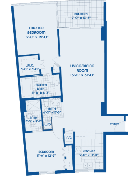Blue - Floorplan 6