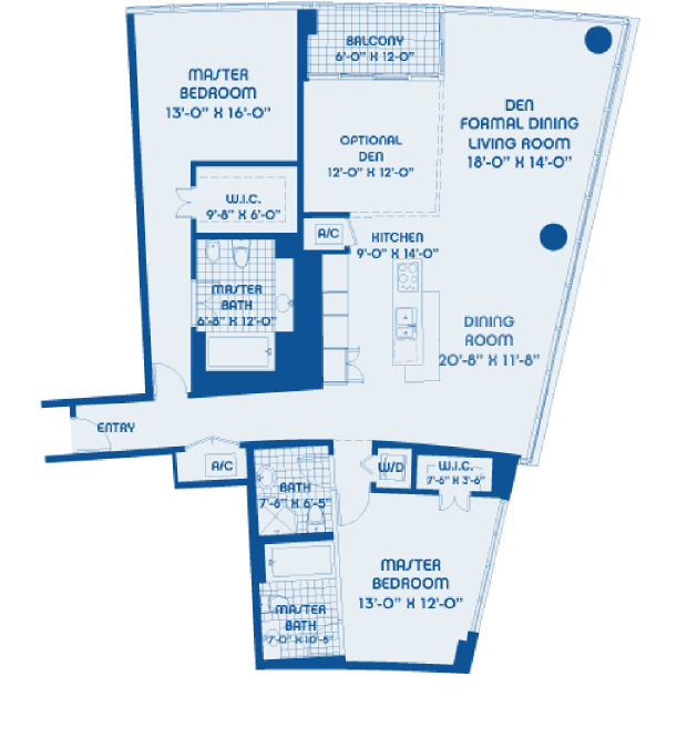 Blue - Floorplan 7