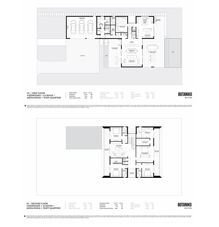Botaniko Weston - Floorplan 1