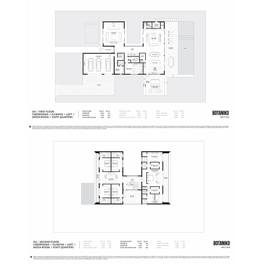 Botaniko Weston - Floorplan 2