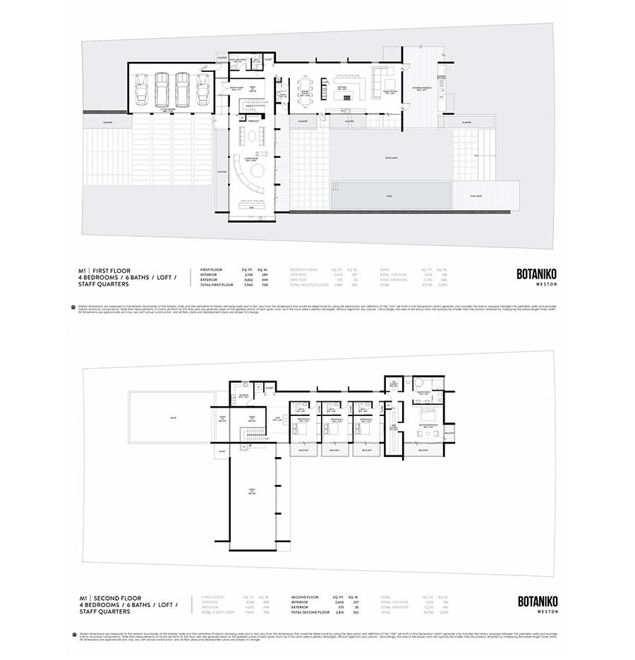 Botaniko Weston - Floorplan 3