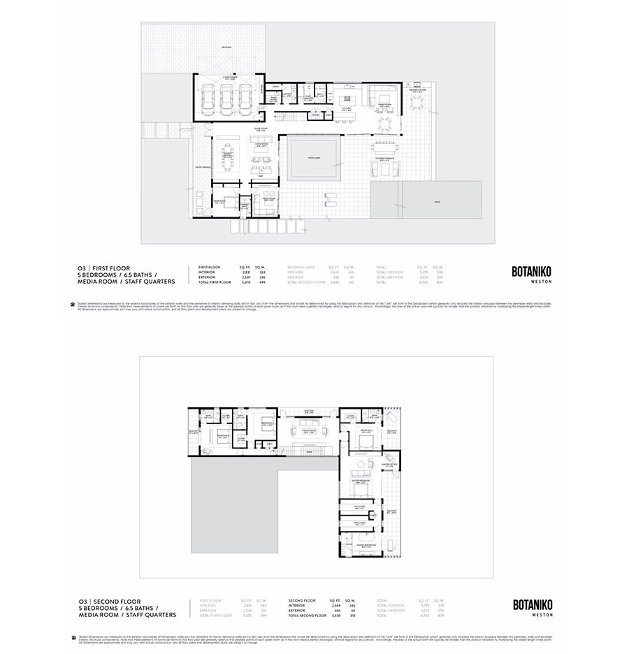 Botaniko Weston - Floorplan 6
