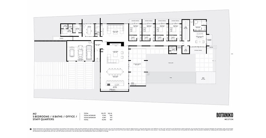 Botaniko Weston - Floorplan 7