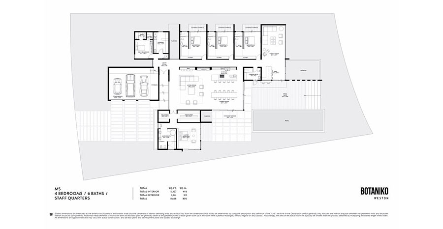 Botaniko Weston - Floorplan 10