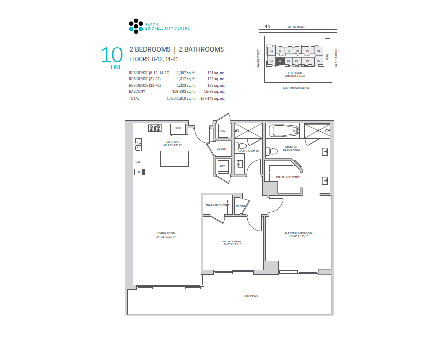 Brickell City Centre Reach - Floorplan 11