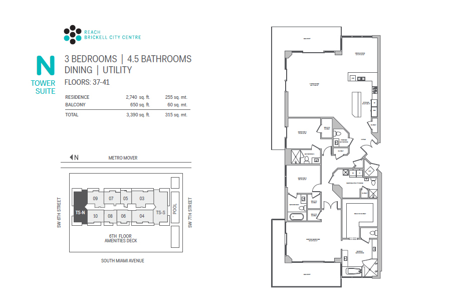 Brickell City Centre Reach - Floorplan 13