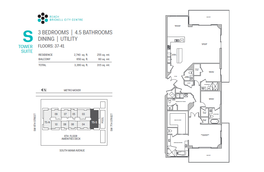 Brickell City Centre Reach - Floorplan 14