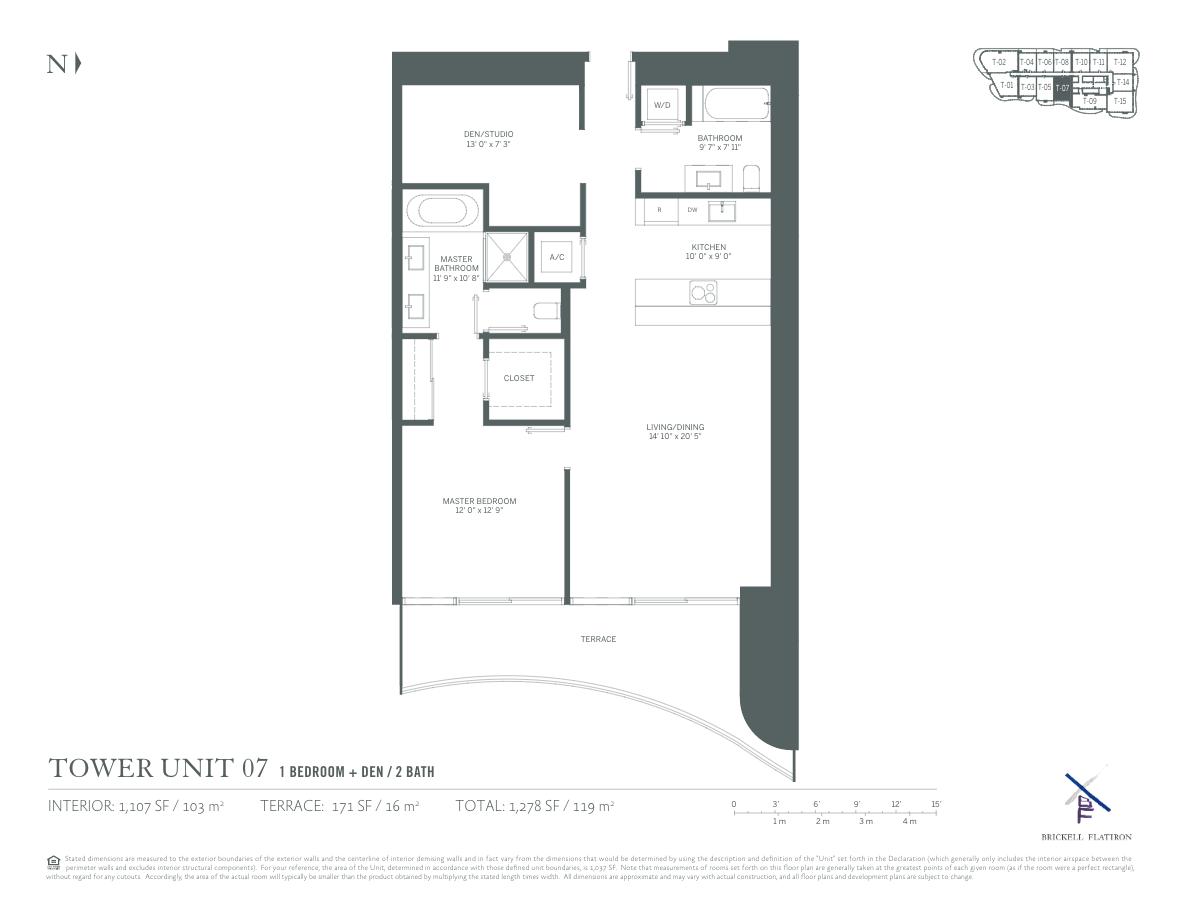 Brickell Flatiron - Floorplan 7