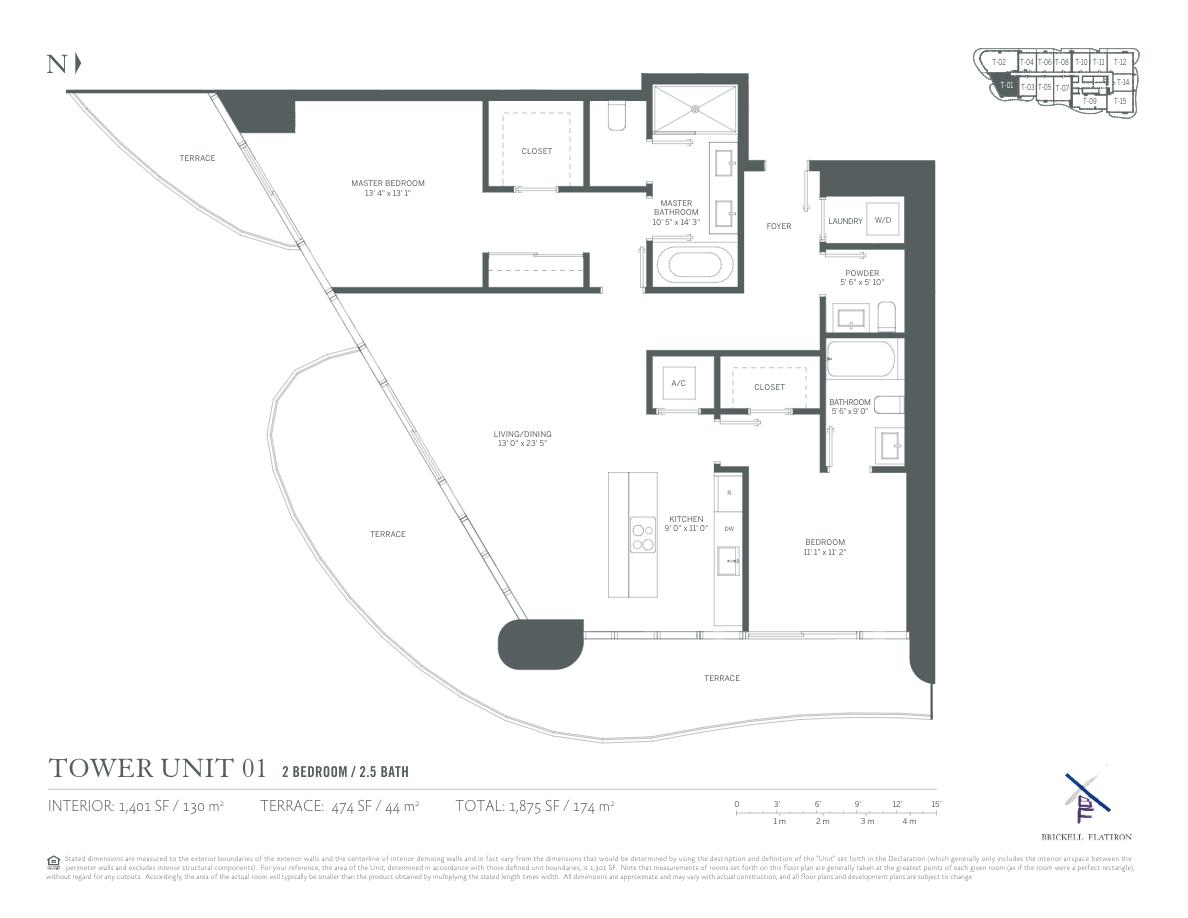 Brickell Flatiron - Floorplan 12