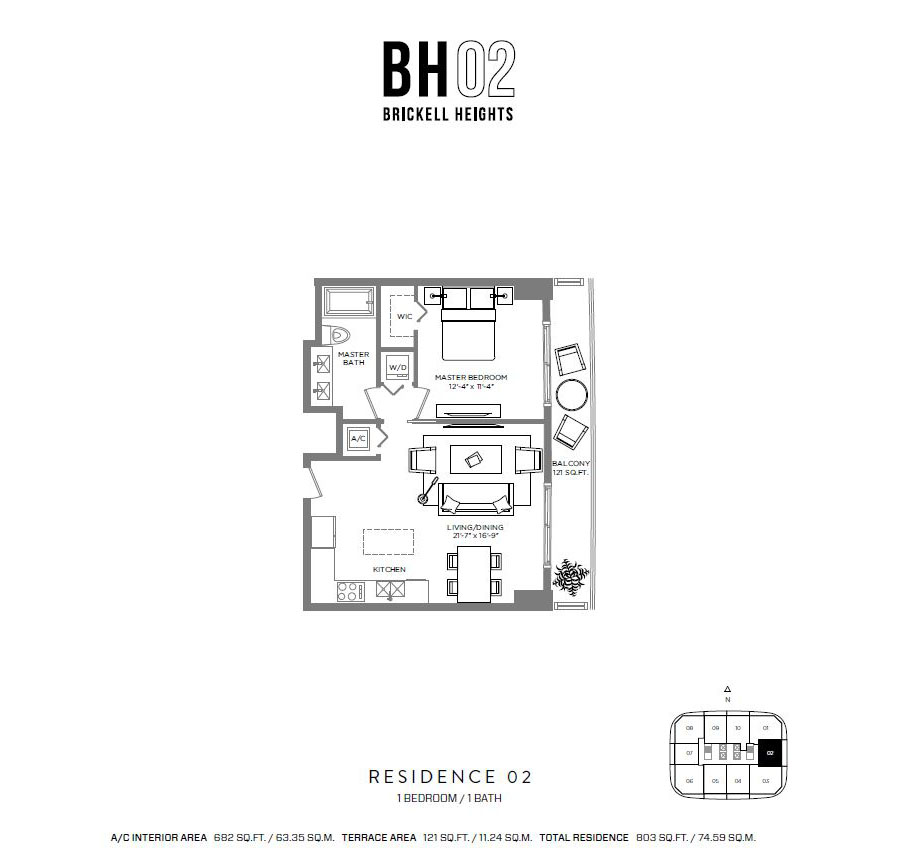 Brickell Heights - Floorplan 3