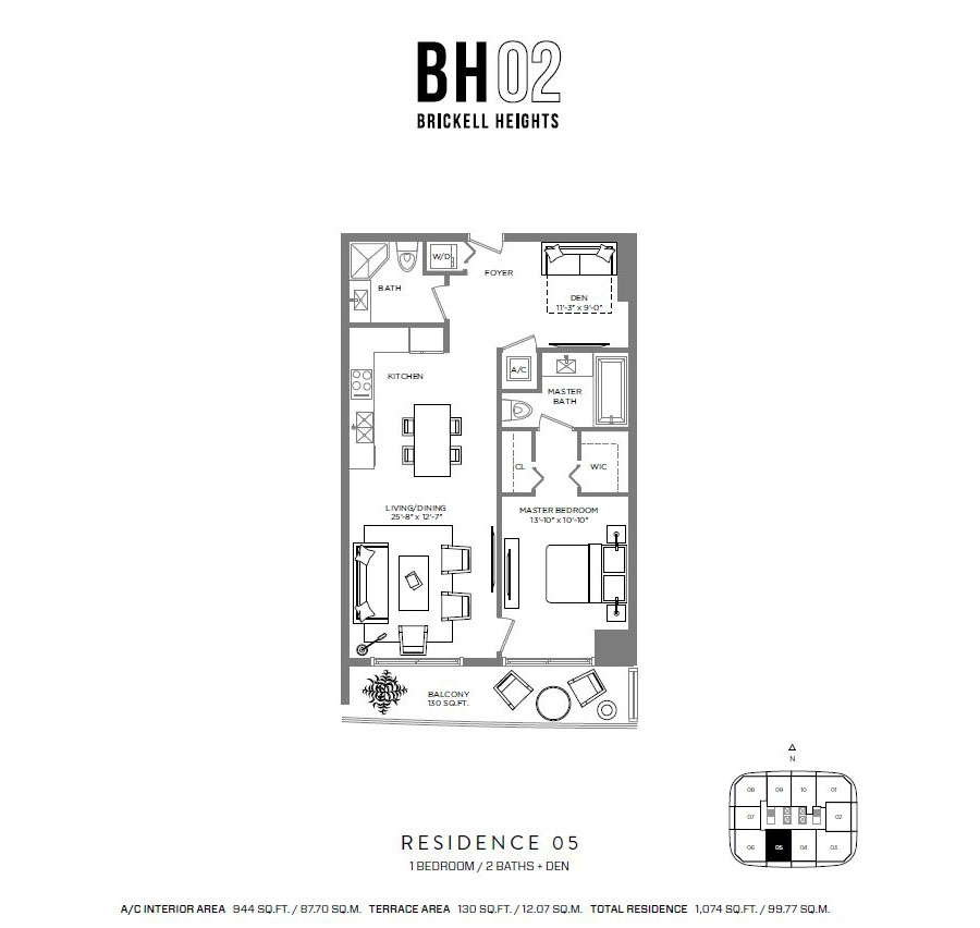 Brickell Heights - Floorplan 4