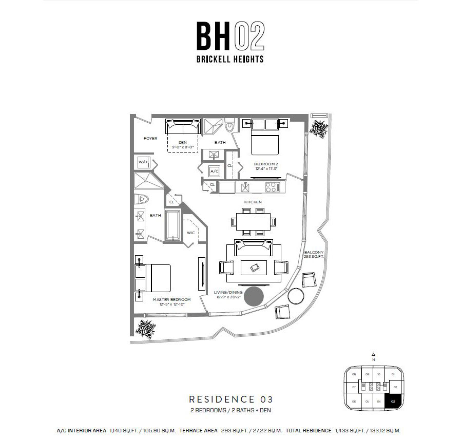 Brickell Heights - Floorplan 5