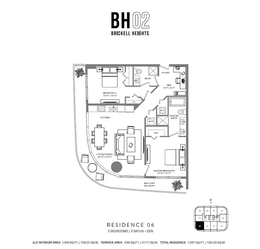 Brickell Heights - Floorplan 6