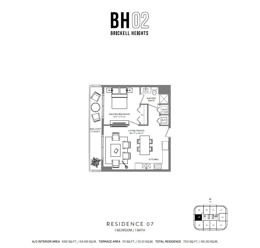 Brickell Heights - Floorplan 7