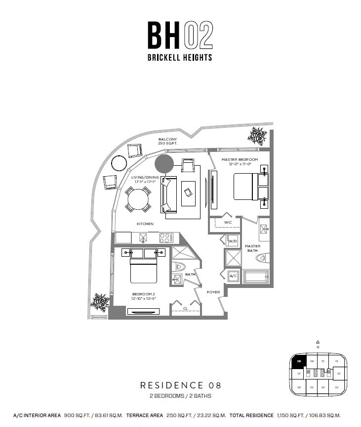 Brickell Heights - Floorplan 8