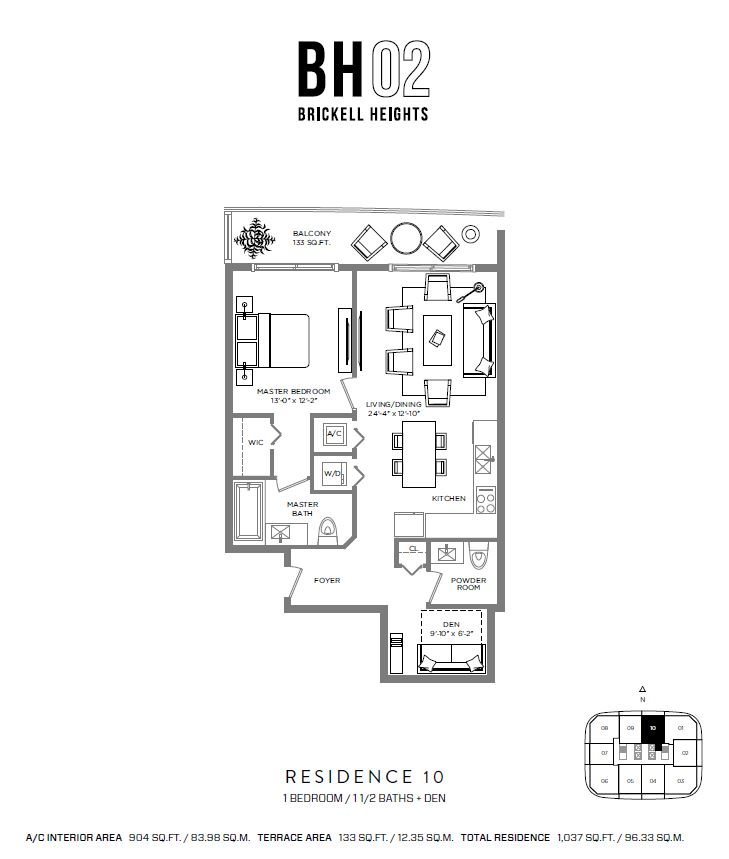 Brickell Heights - Floorplan 10