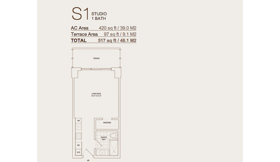Brickell House - Floorplan 3
