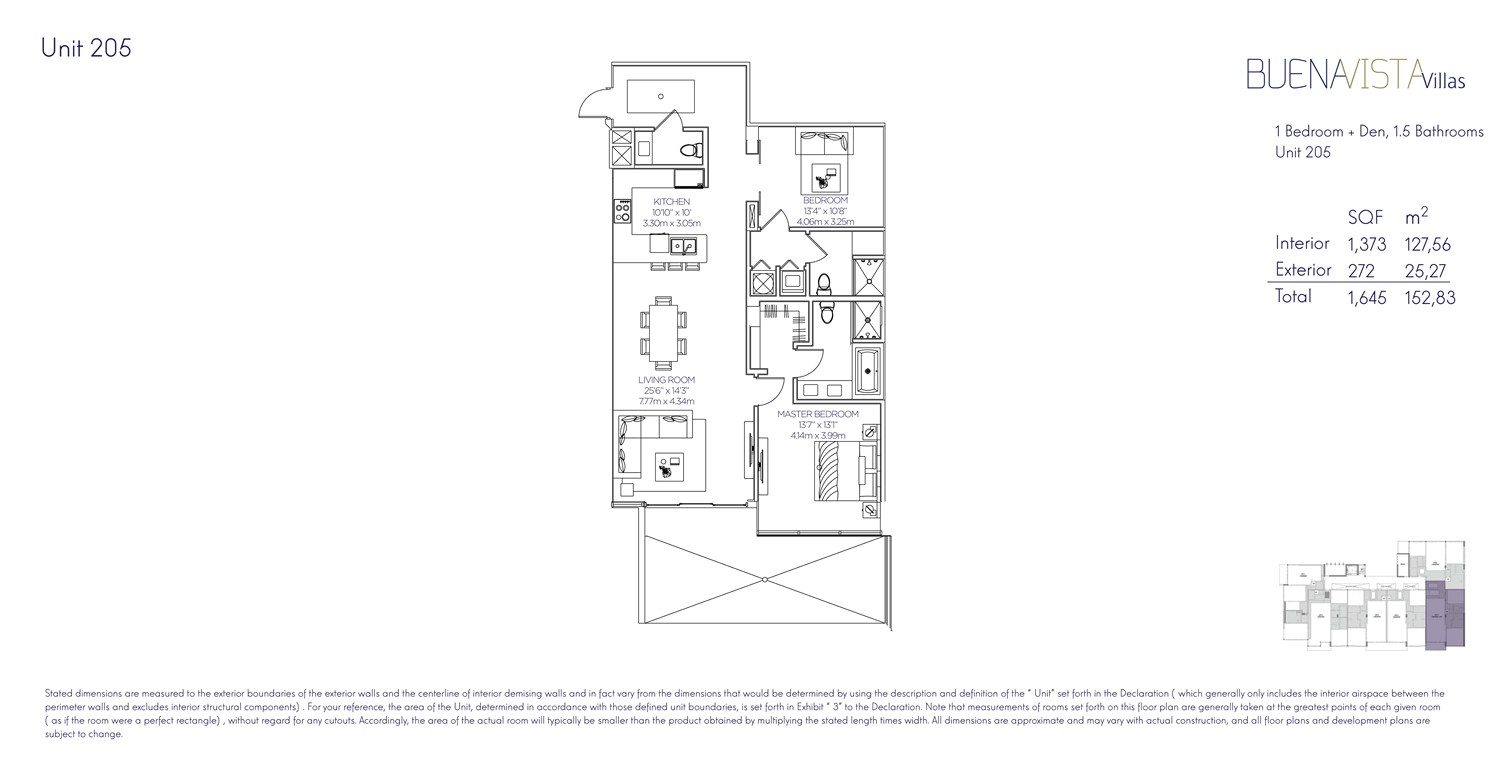 Buena Vista Villas - Floorplan 5