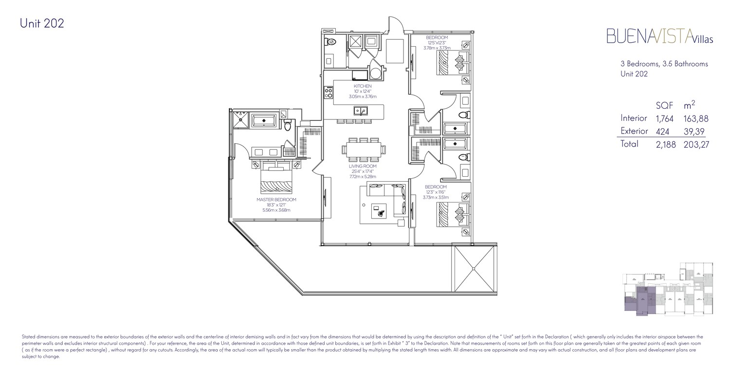 Buena Vista Villas - Floorplan 2