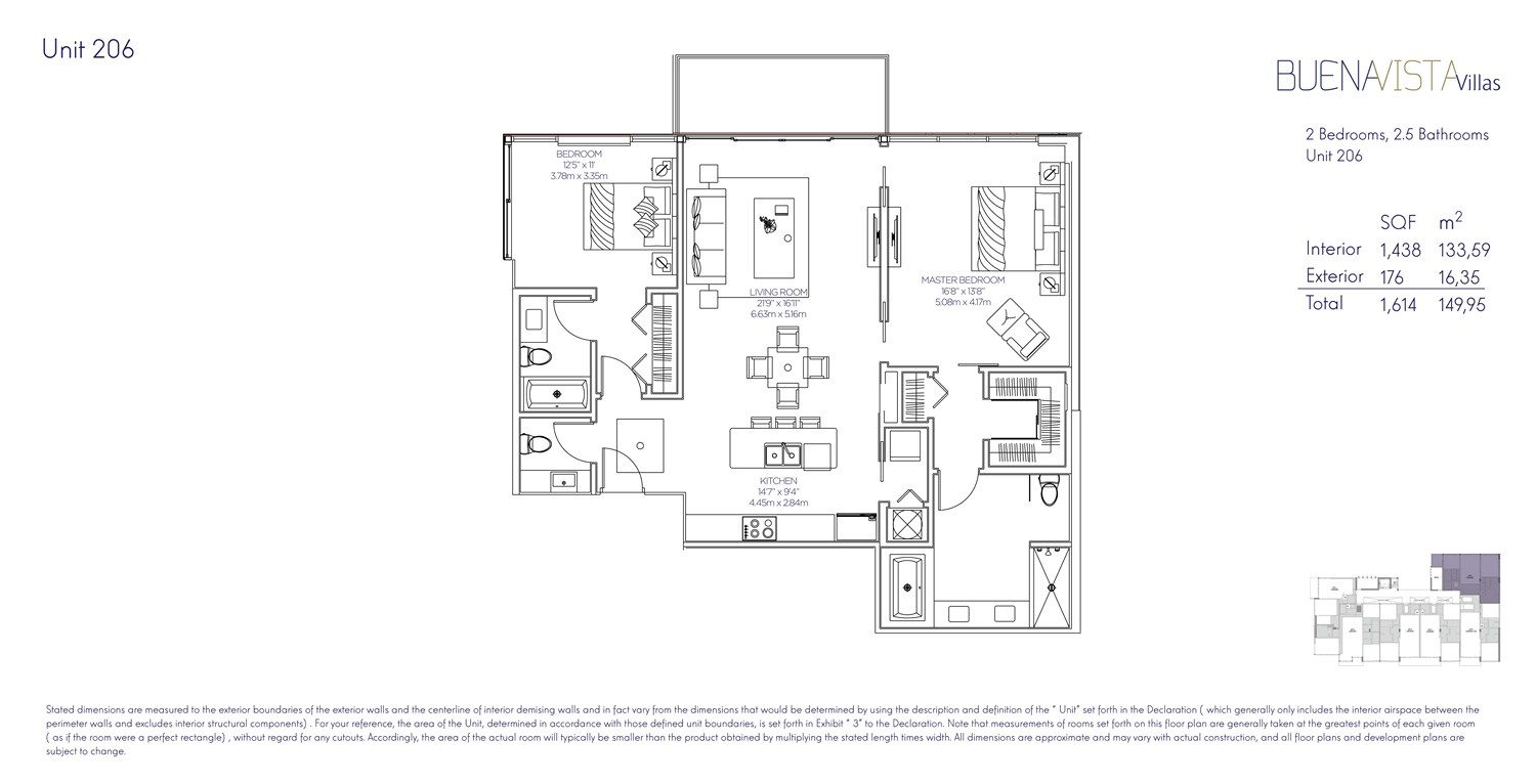 Buena Vista Villas - Floorplan 6