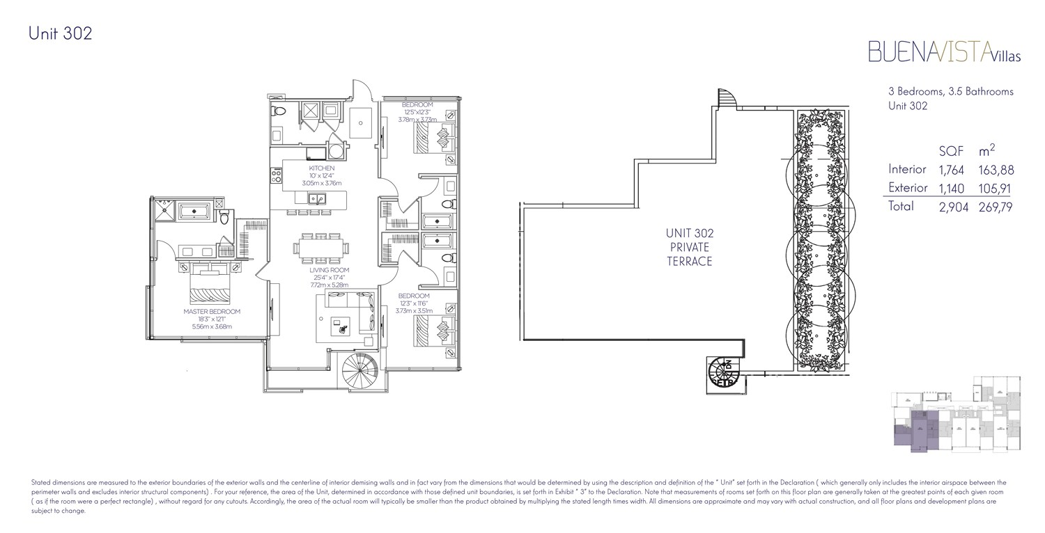 Buena Vista Villas - Floorplan 8