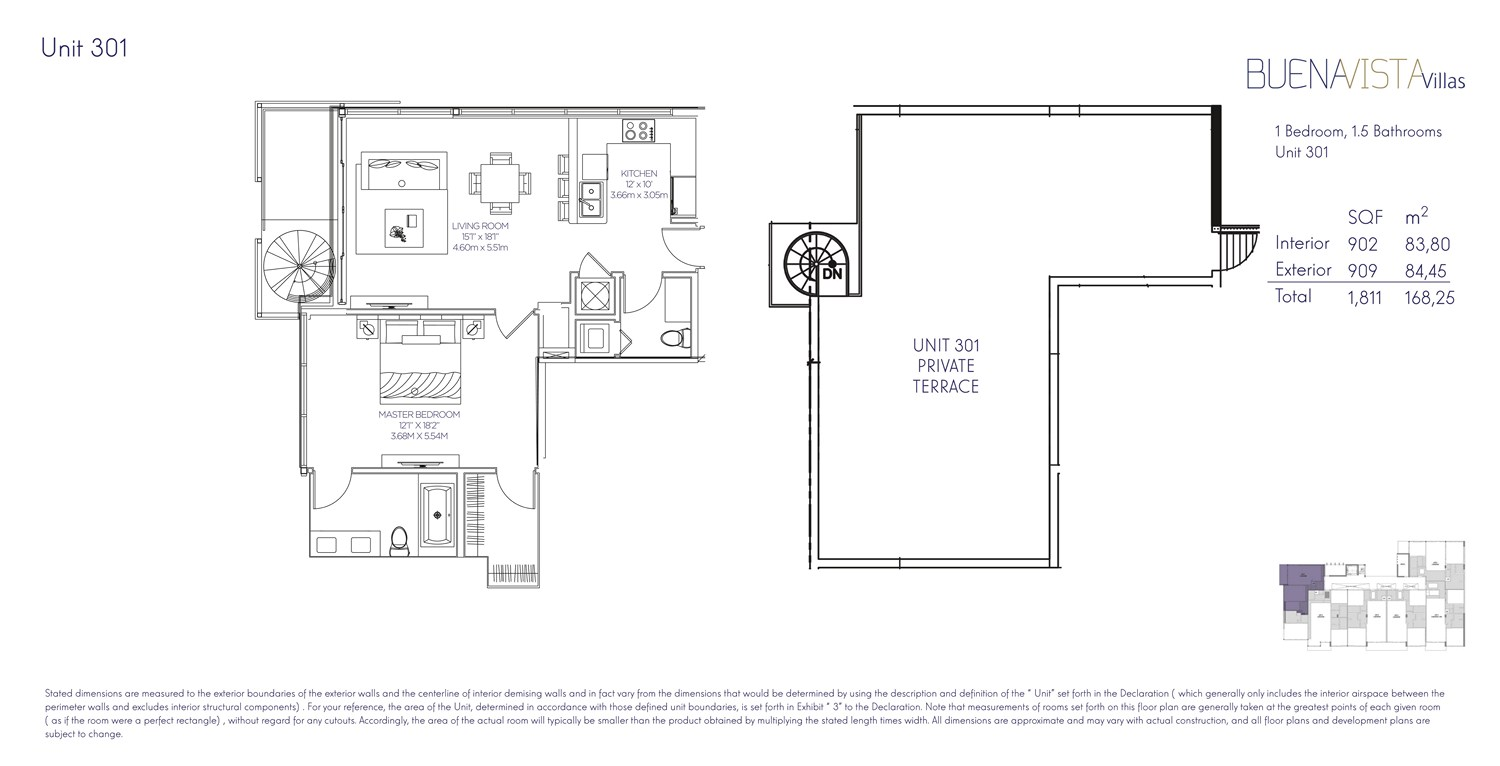 Buena Vista Villas - Floorplan 7