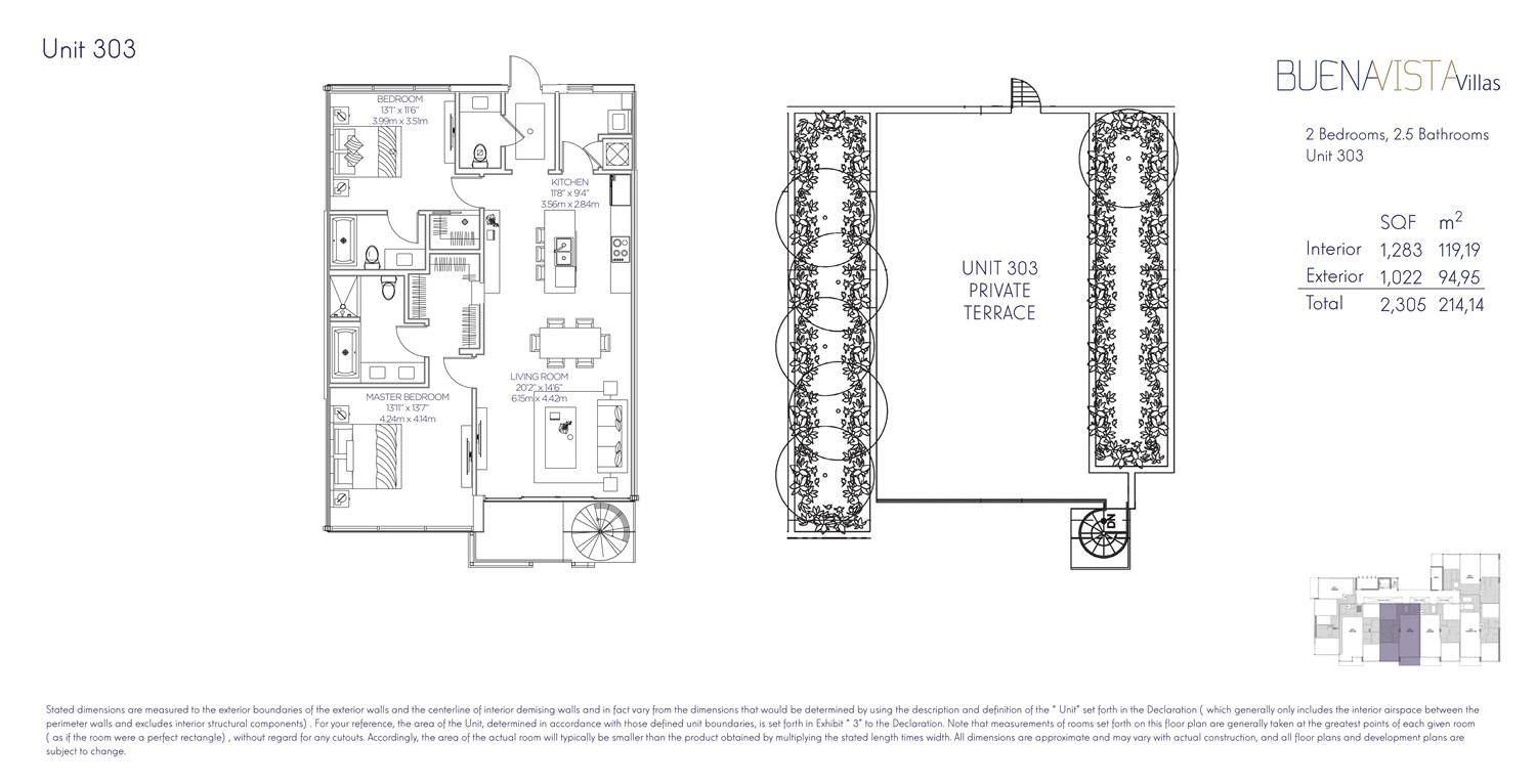 Buena Vista Villas - Floorplan 9