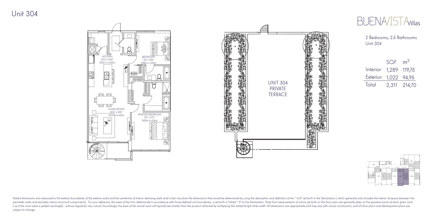 Buena Vista Villas - Floorplan 10