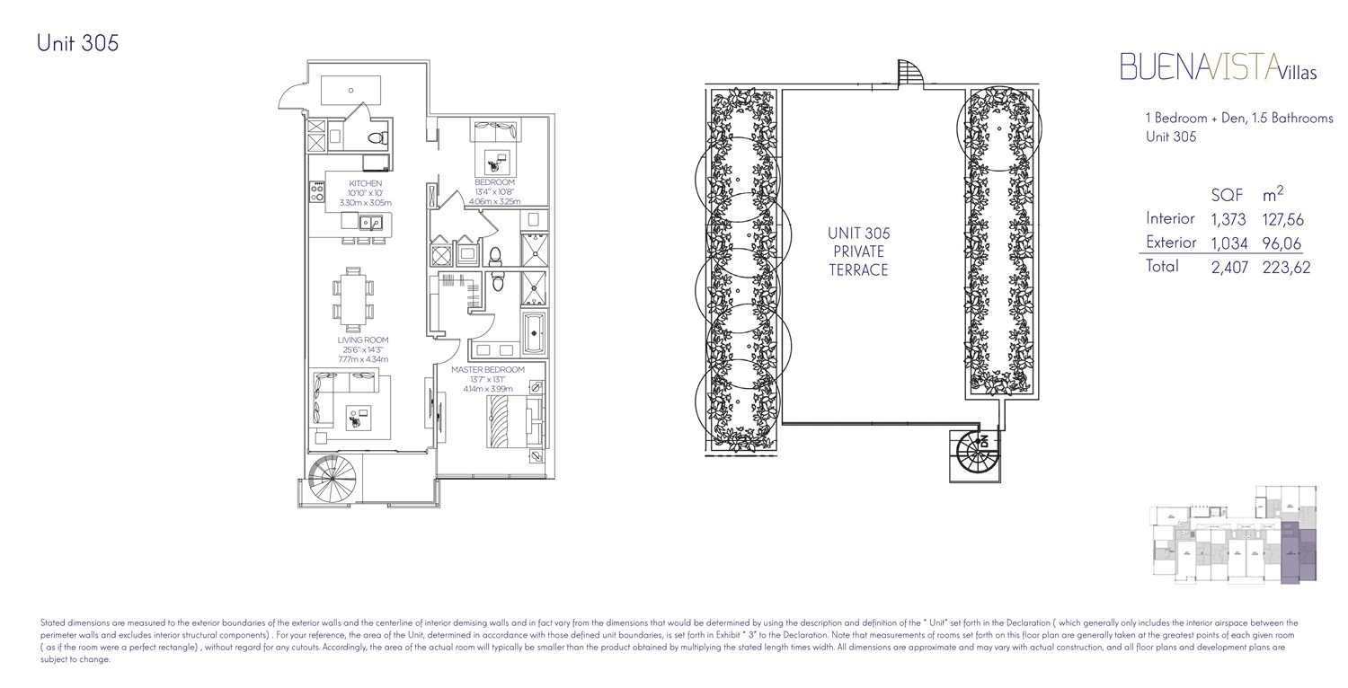 Buena Vista Villas - Floorplan 11